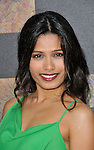 Freida Pinto at the Rise Of The Planet Of The Apes premiere held at Grauman's Chinese Theatre Los Angeles, Ca. July 28, 2011. @Fitzroy Barrett
