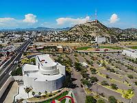 Paisaje urbano, paisaje de la ciudad de Hermosillo, Sonora, Mexico.Museo de Arte de Sonora, MUSAS. . Cerro de la Campana. . Estacionamiento. <br /> Urban landscape, landscape of the city of Hermosillo, Sonora, Mexico.<br /> (Photo: Luis Gutierrez /NortePhoto)