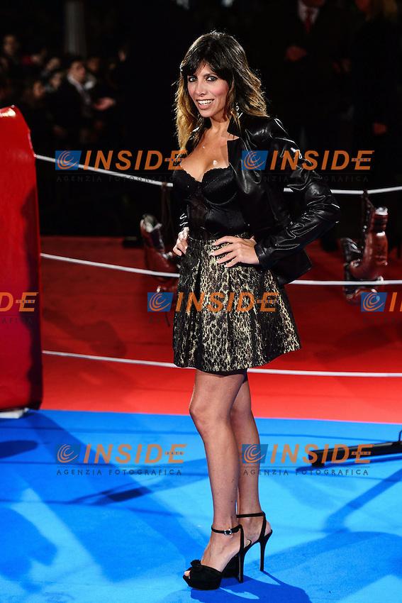 Emanuela Tittocchia <br /> Roma 07-01-2014 Cinema The Space Moderno <br /> Grudge Match - Il Grande Match Premiere<br /> Foto Andrea Staccioli / Insidefoto