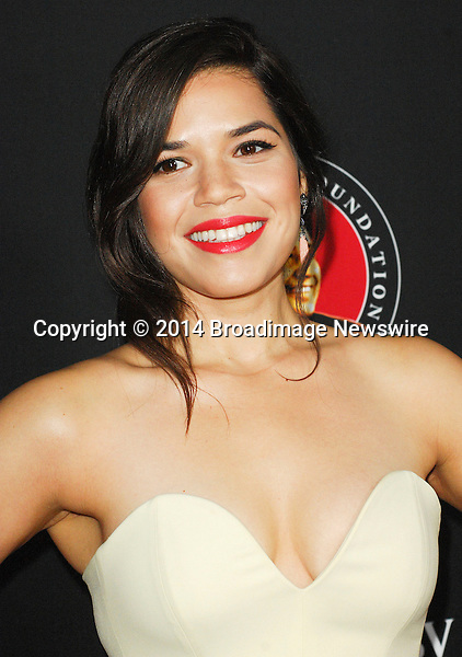Pictured: America Ferrera<br /> Mandatory Credit &copy; Adhemar Sburlati/Broadimage<br /> Film Premiere of Cesar Chavez<br /> <br /> 3/20/14, Hollywood, California, United States of America<br /> <br /> Broadimage Newswire<br /> Los Angeles 1+  (310) 301-1027<br /> New York      1+  (646) 827-9134<br /> sales@broadimage.com<br /> http://www.broadimage.com