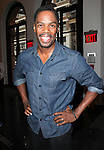 Coleman Domingo attending the Unveiling of the Revitalized Public Theater at Astor Place in New York City on 10/4/2012.