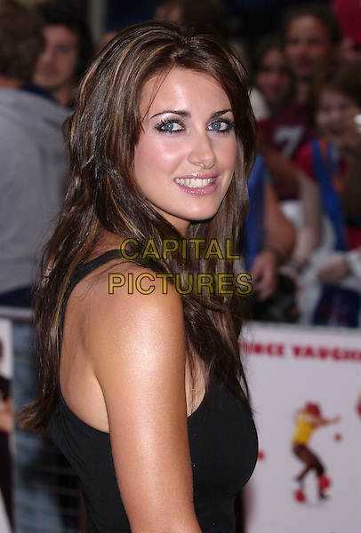 "KIRSTY GALLAGHER.""DodgeBall"" UK film premiere.Odeon Kensington.London 17 August 2004.portrait headshot.www.capitalpictures.com.sales@capitalpictures.com.©Capital Pictures"
