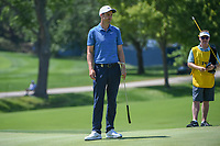 Ross Fisher (ENG) barely misses his putt on 8 during 3rd round of the 100th PGA Championship at Bellerive Country Club, St. Louis, Missouri. 8/11/2018.<br /> Picture: Golffile | Ken Murray<br /> <br /> All photo usage must carry mandatory copyright credit (&copy; Golffile | Ken Murray)