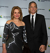 American opera singer and soprano Renee Fleming and her husband, Tim Jessell,arrive for the formal Artist's Dinner honoring the recipients of the 41st Annual Kennedy Center Honors hosted by United States Deputy Secretary of State John J. Sullivan at the US Department of State in Washington, D.C. on Saturday, December 1, 2018. The 2018 honorees are: singer and actress Cher; composer and pianist Philip Glass; Country music entertainer Reba McEntire; and jazz saxophonist and composer Wayne Shorter. This year, the co-creators of Hamilton, writer and actor Lin-Manuel Miranda, director Thomas Kail, choreographer Andy Blankenbuehler, and music director Alex Lacamoire will receive a unique Kennedy Center Honors as trailblazing creators of a transformative work that defies category.<br /> Credit: Ron Sachs / Pool via CNP