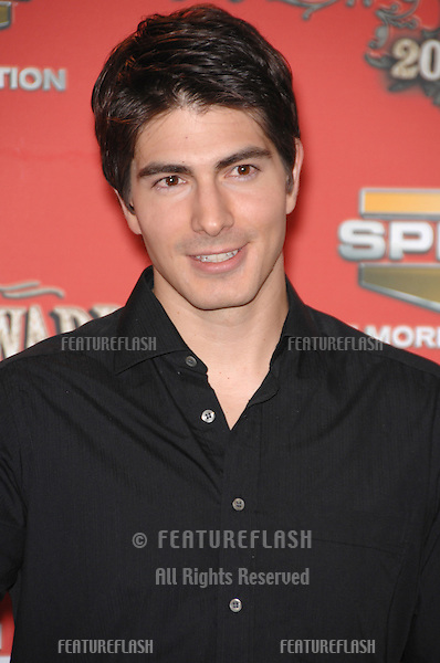 BRANDON ROUTH - winner of Best Superhero award - at the Spike TV Scream Awards 2006 at the Pantages Theatre, Hollywood..October 7, 2006  Los Angeles, CA.Picture: Paul Smith / Featureflash
