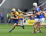 Conor Mc Grath of Clare in action against Tipperary during their quarter final at Pairc Ui Chaoimh. Photograph by John Kelly.