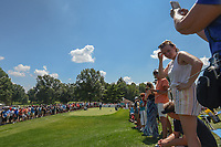 Phil Mickelson (USA) prepares to tee off on 8 during 3rd round of the World Golf Championships - Bridgestone Invitational, at the Firestone Country Club, Akron, Ohio. 8/4/2018.<br /> Picture: Golffile | Ken Murray<br /> <br /> <br /> All photo usage must carry mandatory copyright credit (© Golffile | Ken Murray)