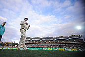 3rd December 2017, Adelaide Oval, Adelaide, Australia; The Ashes Series, Second Test, Day 2, Australia versus England; Steve Smith of Australia takes to the ground to field after Austraia declared their first innings at 442