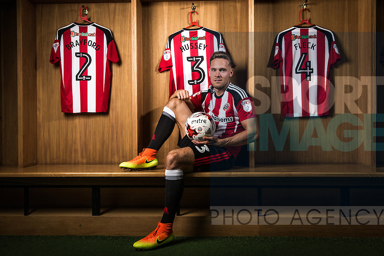 Chris Hussey of Sheffield Utd 18th August 2016