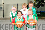 Learning new skills at Killarney Basketball Camp last week. <br />