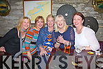 40+2 Aoife O'Driscoll from Cahersiveen celebrating her birthday with friends on Saturday night last pictured l-r; Fidelma McCarthy, Sandra Murphy, Aoife O'Driscoll, Irene McCarthy & Joanne Arthur.