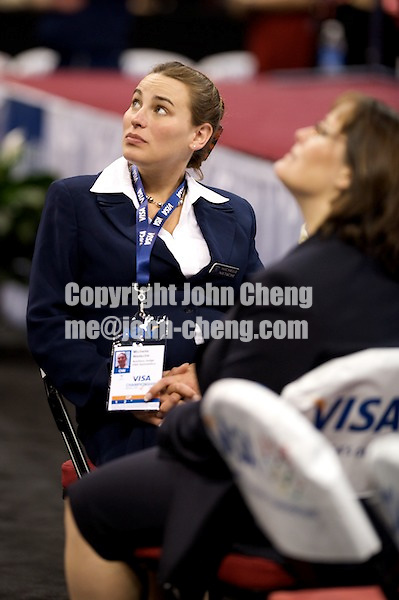 06/05/08 - Women's VISA Championships Agganis Areana in Boston Univeristy.  Jr Women Day 1