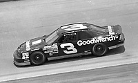 Dale Earnhardt (3) Chevrolet Lumina 18th place action Pepsi 400 at Daytona International Speedway in Daytona beach, FL on July 1, 1989. (Photo by Brian Cleary/www.bcpix.com)