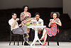 Tanztheater Wuppertal Pina Bausch <br /> &lsquo;Masurca Fogo&rsquo; <br /> at Sadler's Wells, London, Great Britain <br /> rehearsals<br /> 8th February 2017 <br /> <br /> Tanztheater Wuppertal Pina Bausch: Masurca Fogo<br /> &nbsp;Daphnis Kokkinos, Jonathan Fredrickson, Nazareth Panadero<br /> Masurca Fogo, created by the endlessly inventive Pina Bausch, returns to Sadler&rsquo;s Wells from 9 - 12 February 2017. The piece is performed by the legendary Tanztheater Wuppertal Pina Bausch, a Sadler&rsquo;s Wells International Associate Company.<br /> <br /> <br /> <br /> <br /> Performers:<br /> Regina Advento, Pablo Aran Gimeno, Emma Barrowman, Rainer Behr, Andrey Berezin, Michael Carter, &Ccedil;ağdaş Ermis, Silvia Farias Heredia, Jonathan Fredrickson, Ditta Miranda Jasjfi, Daphnis Kokkinos, Cristiana Morganti, Breanna O&rsquo;Mara, Nazareth Panadero, Julie Shanahan, Oleg Stepanov, Julian Stierle, Fernando Suels Mendoza, Aida Vainieri, Ophelia Young.<br /> <br /> Photograph by Elliott Franks <br /> Image licensed to Elliott Franks Photography Services