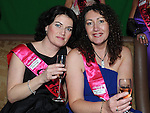 Denise Power and Rita Tracey pictured at Deborah Harrison's hen night in the Star and Crescent. Photo: Colin Bell/pressphotos.ie