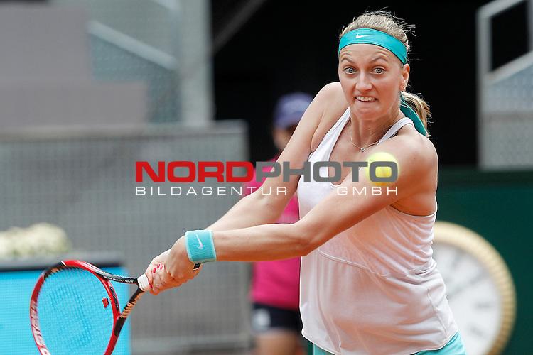 Petra Kvitova, Czech Republic, during Madrid Open Tennis 2015 match.May, 8, 2015.Foto © nph / Acero)