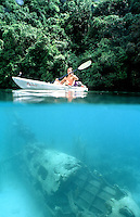 KAYAK AND IIWW PLANE WRECK
