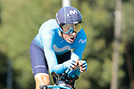 Marc Soler (ESP) Movistar Team in action during Stage 10 of La Vuelta 2019 an individual time trial running 36.2km from Jurancon to Pau, France. 3rd September 2019.<br /> Picture: Colin Flockton | Cyclefile<br /> <br /> All photos usage must carry mandatory copyright credit (© Cyclefile | Colin Flockton)