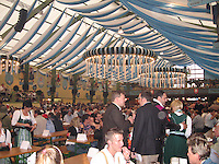 Beer hall at Oktoberfest