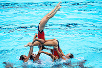 PRK - Democratic&nbsp;People's&nbsp;Republic&nbsp;of&nbsp;Korea<br /> CHA Ye Gyong JANG Hyon Ok<br /> JONG Na Ri JU Yu Na<br /> KO Su Rim MIN Hae Yon<br /> MUN Hye Song RI Il Sim<br /> RI Sol YUN Yu Jong <br /> Free&nbsp;Combination Final <br /> Synchronised swimming , Synchro<br /> 22/07/2017 <br /> XVII FINA World Championships Aquatics<br /> City Park - Varosliget Lake<br /> Budapest Hungary <br /> Photo Andrea Staccioli/Deepbluemedia/Insidefoto