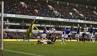 Tottenham go close in the first half<br /> <br /> Photographer Rob Newell/CameraSport<br /> <br /> The Premier League - Tottenham Hotspur v Everton - Sunday March 5th 2017 - White Hart Lane - London<br /> <br /> World Copyright &copy; 2017 CameraSport. All rights reserved. 43 Linden Ave. Countesthorpe. Leicester. England. LE8 5PG - Tel: +44 (0) 116 277 4147 - admin@camerasport.com - www.camerasport.com