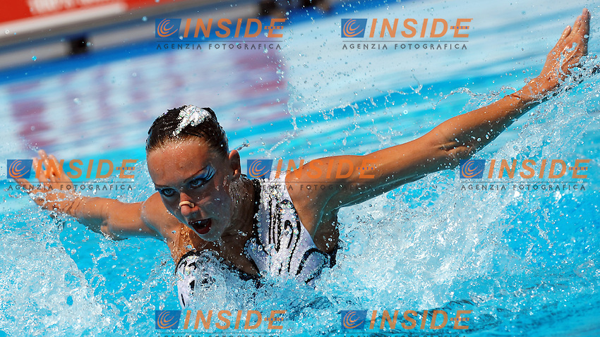 Roma 23th July 2009 - 13th Fina World Championships From 17th to 2nd August 2009.Synchro Swimming Solo Free - Nuoto Sincronizzato Solo Libero.Natalia ISHCHENKO (RUS).photo: Roma2009.com/InsideFoto/SeaSee.com .Foto Andrea Staccioli Insidefoto