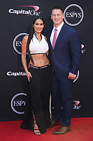 Gabby DouglasLOS ANGELES, CA - JULY 12: Nikki Bella and John Cena at The 25th ESPYS at the Microsoft Theatre in Los Angeles, California on July 12, 2017. Credit: Faye Sadou/MediaPunch