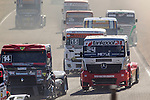 German driver Andre Kursim belonging German team Tankpool 24 Racing during the third race R3 of the XXX Spain GP Camion of the FIA European Truck Racing Championship 2016 in Madrid. October 02, 2016. (ALTERPHOTOS/Rodrigo Jimenez)