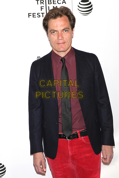 NEW YORK, NEW YORK - APRIL 15: Michael Shannon at the World Premiere of 'Wolves'during the 2016 Tribeca Film Festival at SVA Teather on April 15, 2016 in New York City. <br /> CAP/MPI99<br /> &copy;MPI99/Capital Pictures