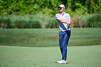 Chris Wood (ENG) watches his approach shot on 11 during round 2 of the Shell Houston Open, Golf Club of Houston, Houston, Texas, USA. 3/31/2017.<br /> Picture: Golffile | Ken Murray<br /> <br /> <br /> All photo usage must carry mandatory copyright credit (&copy; Golffile | Ken Murray)
