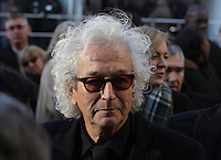 Luc Plamondon attend the funeral of Rene Angelil, , Friday Jan. 22, 2016 at Notre-Dame Basilica in Montreal, Canada.<br /> <br /> <br /> <br /> <br /> <br /> <br /> <br /> <br /> <br /> <br /> <br /> <br /> <br /> .