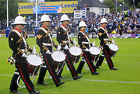 PICTURE BY CHRIS MANGNALL /SWPIX.COM...Rugby League -  Super League  - Leeds Rhinos v Hull FC - Headingley Carnegie Stadium , Leeds, England  - 06/07/12... Royal Marines Band