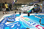 July 23, 2010 - Tokyo, Japan - A Toyota Prius is pictured at the automaker's showroom in Odaiba, Tokyo, Japan, on July 23, 2010. The third generation Toyota Prius celebrates the 14th month in top of the best selling cars in Japan, with 31.876 copies sold according to the Japan Automobile Dealers Association.
