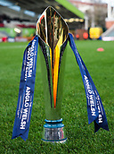 4th November 2017, Welford Road, Leicester, England; Anglo-Welsh Cup, Leicester Tigers versus Gloucester;  The Anglow-Welsh trophy pitch side before kick-off