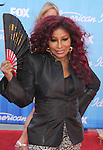 LOS ANGELES, CA - MAY 23: Chaka Khan arrives at 'American Idol' Season 11 Grand Finale Show at Nokia Theatre L.A. Live on May 23, 2012 in Los Angeles, California.