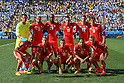 Switzerland team group line-up (SUI), JULY 1, 2014 - Football / Soccer : FIFA World Cup Brazil 2014 Round of 16 match between Argentina 1-0 Switzerland at Arena de Sao Paulo in Sao Paulo, Brazil. (Photo by Maurizio Borsari/AFLO)