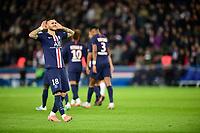 joie des joueurs du PSG apres le but de Mauro Icardi (PSG)<br /> 22/11/2019<br /> Paris Saint Germain PSG - Lille<br /> Calcio Ligue 1 2019/202 <br /> Foto JB Autissier Panoramic/insidefoto <br /> ITALY ONLY