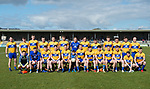 The Clare team who were victorious over Louth in their national League game in Cusack Park. Photograph by John Kelly.