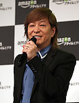 "May 31, 2016, Tokyo, Japan - Cast of Amazon Japan's documentary drama ""Invisible Tokyo"" music composer Tetsuya Komuro speaks at a promotional event for Amazon Prime Video in Tokyo on Tuesday, May 31, 2016. Amazon Japan announced they would increase original contents for Amazon' video distribution service in Japan.      (Photo by Yoshio Tsunoda/AFLO)"