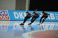 SPEEDSKATING: SALT LAKE CITY: 08-12-2017, Utah Olympic Oval, ISU World Cup, Team Pursuit Men, Team Canada, ©photo Martin de Jong