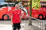 20.07.2019, Heinz-Dettmer-Stadion, Lohne, GER, Interwetten Cup, VfL Osnabrueck vs 1. FC Koeln<br /> <br /> im Bild<br /> Achim Beierlorzer (Trainer / Cheftrainer 1. FC Koeln) <br /> bei Ankunft am Stadion, <br /> <br /> Foto © nordphoto / Ewert