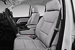 Front seat view of a 2017 GMC Sierra 3500HD Double 4WD Cab Long Box 4 Door Pick Up front seat car photos