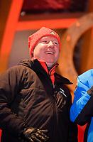 27.02.2018, Olympische Winterspiele 2018, Empfang der erfolgreichen Olympia-Sportlerinnen und Sportler aus dem Allgäu am Marktplatz Oberstdorf.  Trainer der Athleten,  Trainer Alexander König (Eiskunstlauf, GER). *** Local Caption *** © pixathlon