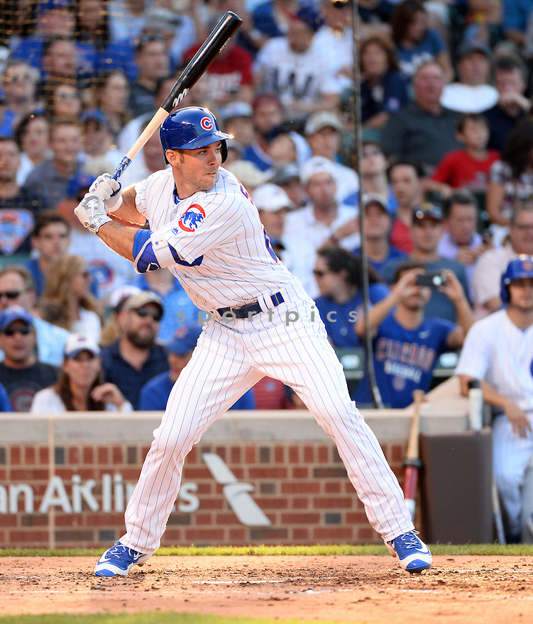 Chicago Cubs Matt Szczur (20) during a game against the New York Mets on July 18, 2016 at Wrigley Field in Chicago, IL. The Cubs beat the Mets 5-1.