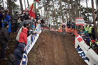 Sieben Wouters (NLD)<br /> <br /> U23 men's race<br /> <br /> UCI 2016 cyclocross World Championships / Zolder, Belgium