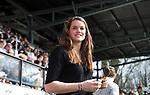 AMSTELVEEN - Hockey - Hoofdklasse competitie dames. AMSTERDAM-DEN BOSCH (3-1) De geblesseerde  Lidewij Welten (Den Bosch)  COPYRIGHT KOEN SUYK