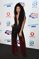 Vik Hope in the press room for the Capital Summertime Ball 2018 at Wembley Arena, London, UK. <br /> 09 June  2018<br /> Picture: Steve Vas/Featureflash/SilverHub 0208 004 5359 sales@silverhubmedia.com