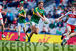 Fiáchra Clifford Kerry scores his side's fourth goal against  Derry in the All-Ireland Minor Footballl Final in Croke Park on Sunday.