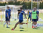 24.06.2019 Rangers training in Algarve: Daniel Candeias