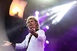 © Joel Goodman - 07973 332324 . 06/08/2017 . Macclesfield , UK . JOHN PARR performs at the Rewind Festival , celebrating 1980s music and culture , at Capesthorne Hall in Siddington . Photo credit : Joel Goodman